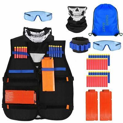 Tactical Vest Kit - Nerf Bullets Vest for Nerf Guns N-Strike Elite Series, Boys  - Nerf Guns Elite