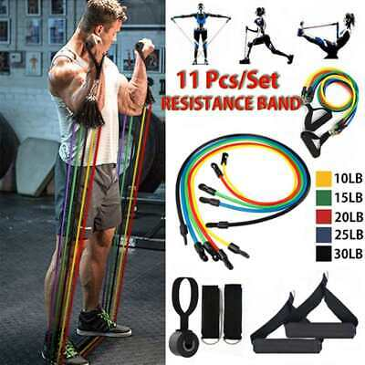 USA Seller Resistance Bands Set - 11 Piece