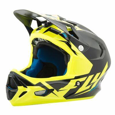 Fahrradhelm FLY WERX (Mips) fluoreszierend/Gelb/Schwarz, Größe M