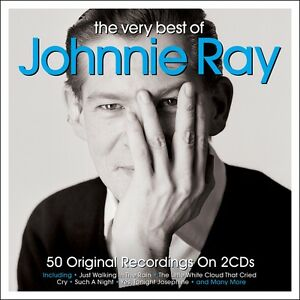 Johnnie Ray - The Very Best Of - 50 Original Recordings (2CD 2016) NEW/SEALED