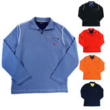Nautica NEW Mens Sweater 1/4 Zip Pullover Long Sleeve Cotton Shirt