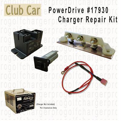 Club Car PowerDrive # 17930 Battery Charger Repair Kit - 48 volt Golf Cart