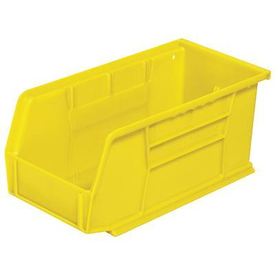 Akro Mills Medium Yellw Storage Bin