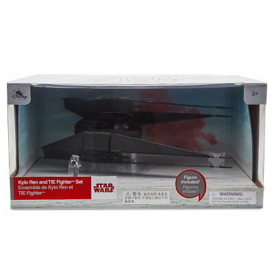 Disney Store Star Wars Last Jedi Kylo Ren   Tie Fighter Figure 11  L Nib