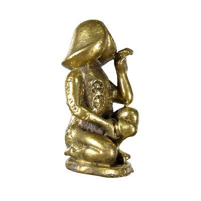 PALADKIK CALL MONEY Nang Kwak Wealth Thai Amulet Good Trade Lucky Talisman Magic