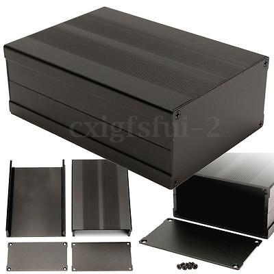 150x105x55MM Black Aluminum Box Circuit Board Enclosure Case Project Electronic