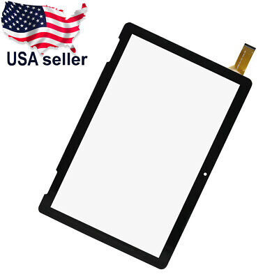 """Touch Screen Digitizer Glass For Onn 10.1"""" Tablet 2APUQW1027 100011886"""