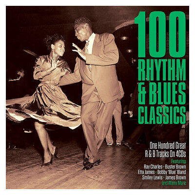 100 Rhythm & Blues Classics VARIOUS ARTISTS Best Of 100 Essential Songs NEW 4