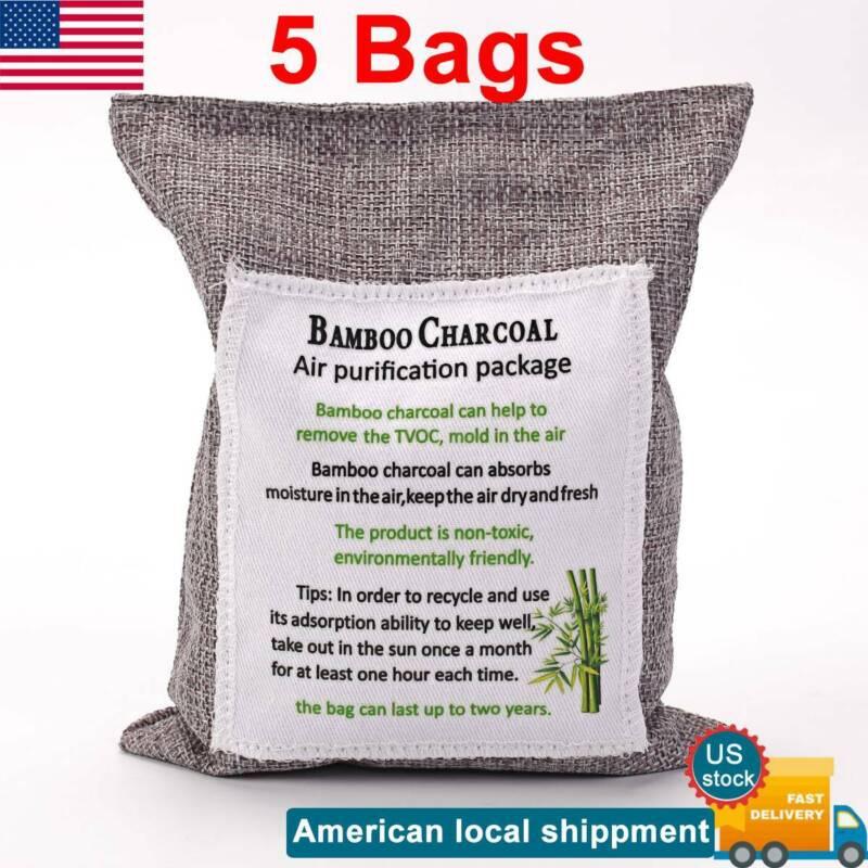 Air Purifying Bag Purifier Nature Fresh Charcoal Bamboo Mold