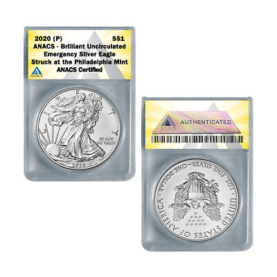 2020 (P) American Silver Eagle BU - Emergency ASE Production