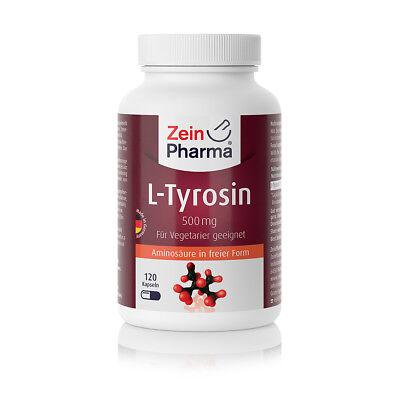 Stimmung Unterstützen (L-Tyrosin 120 Kapseln von ZeinPharma®)