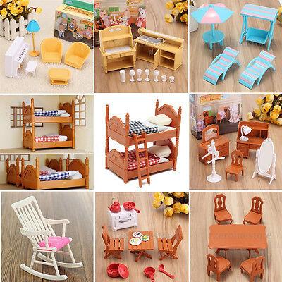 Miniature Mobilier Maison De Poupée Meuble En Plastique Cadeaux Pour Enfant