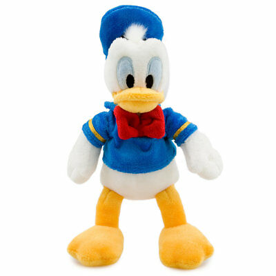 Disney Store Donald Duck Mini Bean Bag Plush