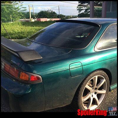(Rear Roof Spoiler Window Wing (Fits: Nissan 240sx 1995-99 s14) 284R SpoilerKing)