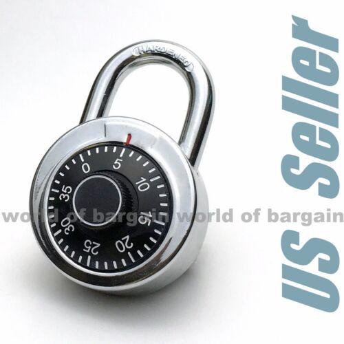 Combination PADLOCK School Locker Keyless Lock Code Number Dial Gym Bike T051
