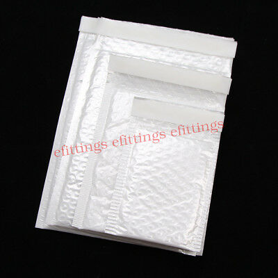 10050 Poly Bubble Mailers Padded Envelopes Self Seal 4x6 6x9 7x10 9x12 10x15
