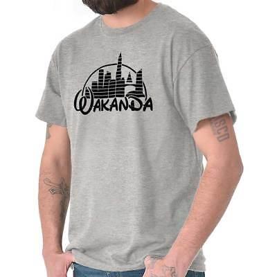 Wakanda Kingdom Marvel Hero Black Panther Cool Funny Thor Gym Classic T Shirt Te (Hero Black Shirt)