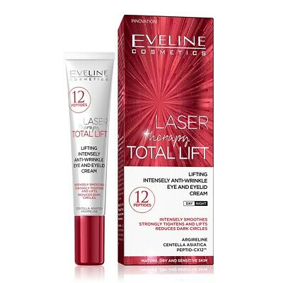 Eveline Cosmetics Laser Therapy Total Lift Eye & Eyelid Anti-Wrinkle Cream 20ml