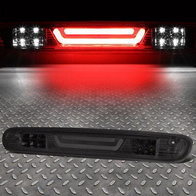 Brake Bar - [3D LED BAR]FOR 07-13 SILVERADO/SIERRA THIRD BRAKE LIGHT/CARGO LAMP SMOKED LENS