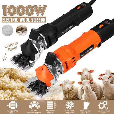 1000w Electric Farm Supplies Sheep Goat Shears Animal Shearing Grooming Clipper
