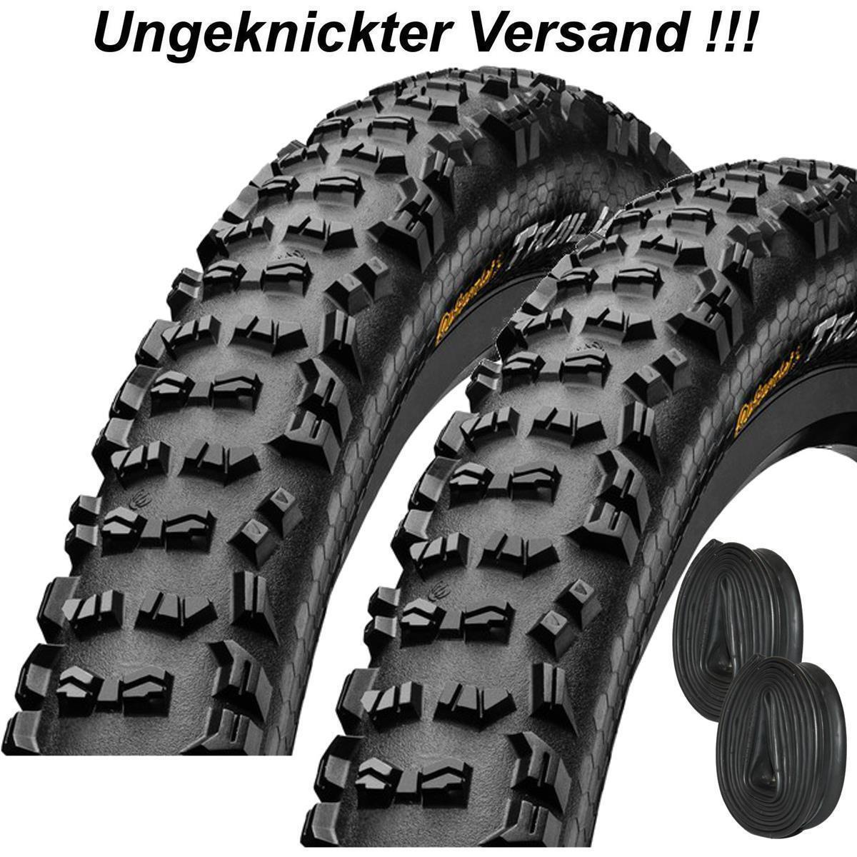 "2x Continental Reifen ""Trail King"" 26"", 27,5"", 29"" MTB Mantel m/o Conti Schlauch"