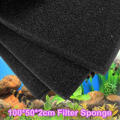 50x30x4cm nero per acquario laghetto spugna cotone for Filtro x laghetto
