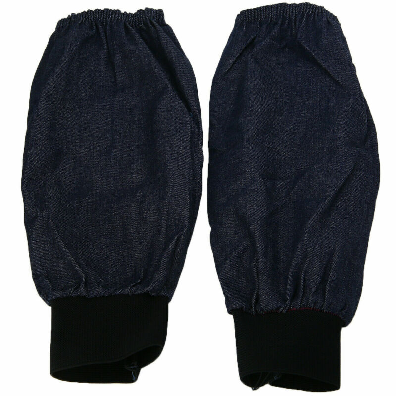 Pair Arm Sleeves Protection Welding Sleeves Wear-resistant Denim Daily Use