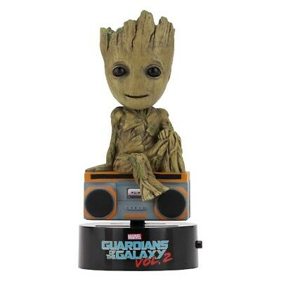 - Groot Body Knocker Bobble Head  Toy Guardians Of The Galaxy Marvel Boombox Vol 2