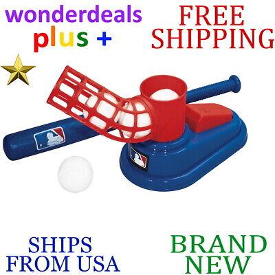 Franklin Sports MLB Baseball Pop A Pitch - Includes 25 Inch