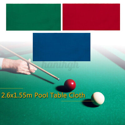 Worsted Wool+Nylon Blendes Billiard Pool Table Cloth Cover Felt For 7/8 FT Table