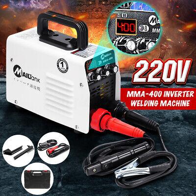 220v Hot Startarc Force Stick Welder Inverter Mma Welding Machine Igbt 400a Us