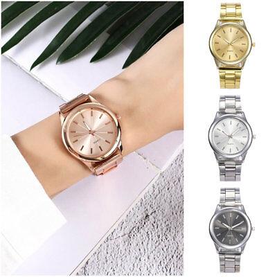 Dress Sport Womens Watch - Womens Luxury Stainless Steel Watch Sport Quartz Analog Dress Wristwatches Gift