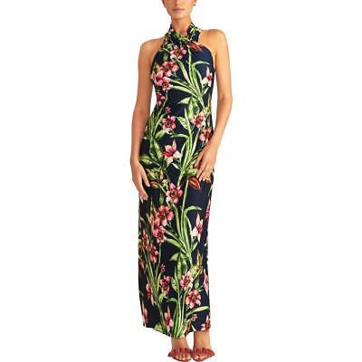 Rachel Rachel Roy Womens Floral Sleeveless Halter Maxi Dress BHFO 8060