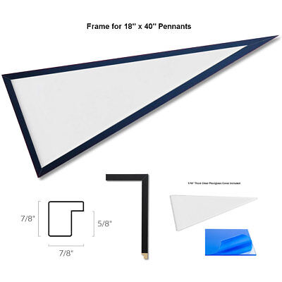Large Wood Pennant Frame - Pennant Frame