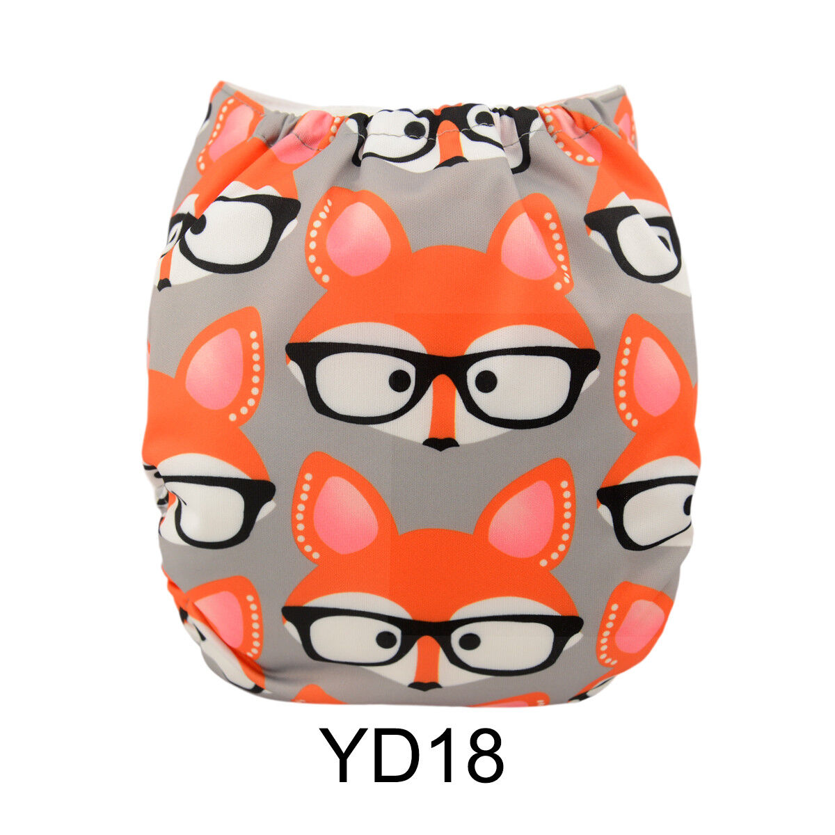 ALVABABY Reusable Baby Cloth Diapers OneSize Washable Pocket Nappies With Insert YD18