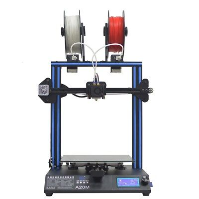 Geeetech 3d Printer A20m Break-resuming Capability 2 In 1 Out Extruder