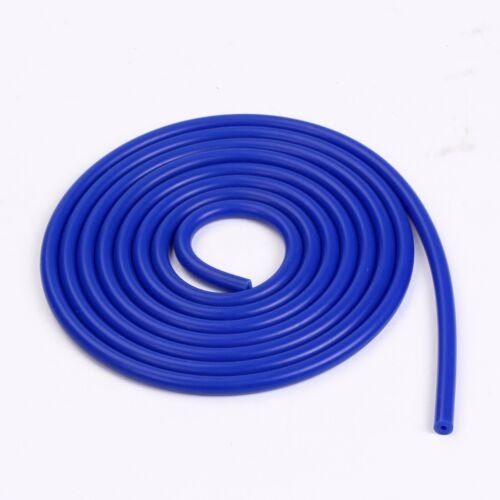 """3/"""" 76mm straight silicone coupler 24 inches 2 feet blue tube hose"""