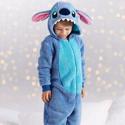 Kids Costume Storage (Kids Disney Store Lilo Stitch Costume Plush Suit Zipper)