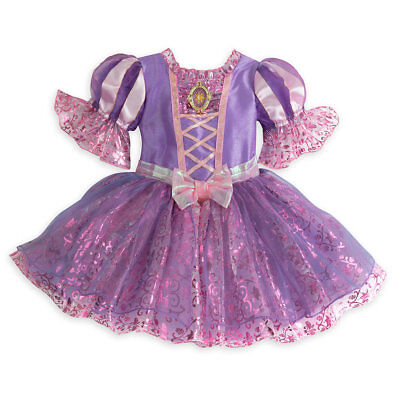 Disney Store Princess Rapunzel Baby Girl Costume Dress Size 18/24 Months (Infant Princess Costumes)