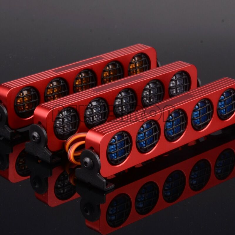 Multi Function Ultra LED Light Bar 5 Modes For RC 1/10 1/8 D90 SXC10 4WD AX-509
