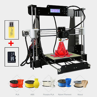 Anet A8 2017 Upgraded Quality High Precision Reprap Prusa i3 DIY 3d Printer New