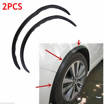 2 Pcs Car Auto Fender Wheel Eyebrow Protector Strips Rubber For Ford Focus Parts Mazda Pickup Truck Parts