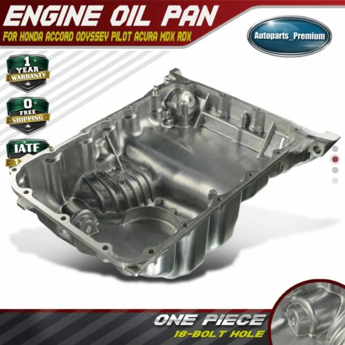 Engine Oil Pan Sump For Acura MDX RDX RL TL Honda Accord 3