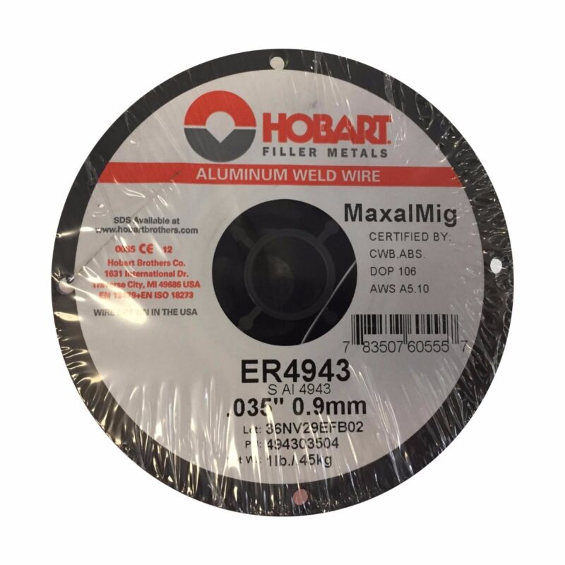"Hobart Maxal 4943 .035 X 1 Lb (4"") Spool (494303504)"