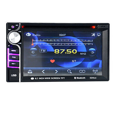 HD Touch Double 2 Din  6.2