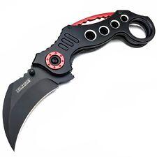 TAC FORCE Spring Assisted Pocket Knives KARAMBIT CLAW BLACK Blade Tactical Knife