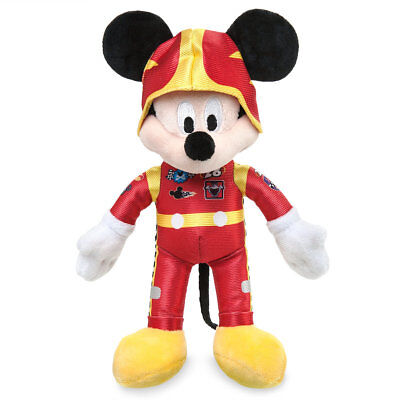 (NWT Disney Store Mickey Mouse Roadster Racer Plush 9