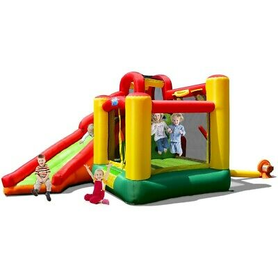 Inflatable Bounce House Castle Jumper with Slide House Moonwalk With 780W Blower for sale  Shipping to Canada