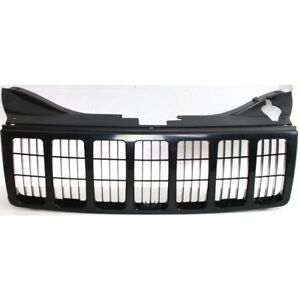 Radiator Grille Black Paint to Match For 2005-2007 Jeep Grand Cherokee WK