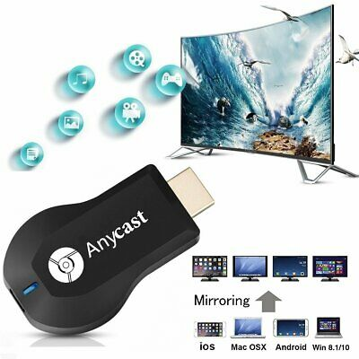 Anycast 1080P HD Media Video Digital Streamer Dongle Generation For Chromecast